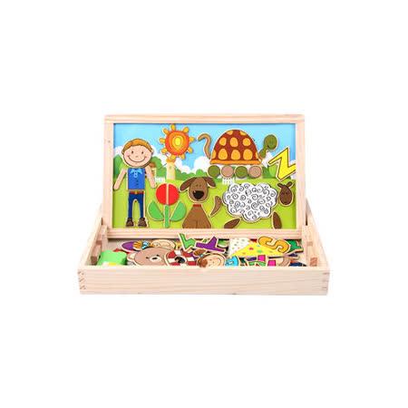 funKids 磁性拼貼寶盒