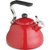 《KitchenCraft》琺瑯笛音壺(紅)