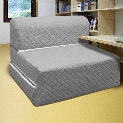 KOTAS高週波彈簧沙發床椅 單人 三尺 灰