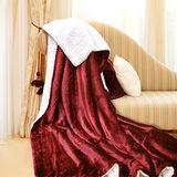 義大利Fancy Belle《艾菲爾-紅》雪尼絨毯150*180CM