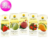 【皇家農場】鮮果汁任選9組共36瓶(草莓/荔枝/芭樂/芒果/綜合莓)200mlx4入/組