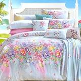 【Betrise綺麗夢胭】雙人100%奧地利天絲TENCEL八件式兩用被床罩組