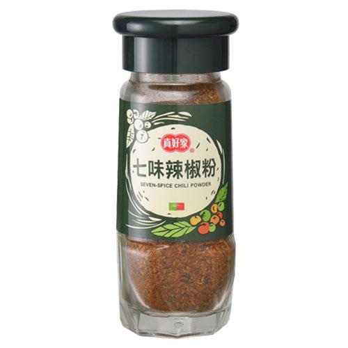 真好家綠瓶七味辣椒粉30g