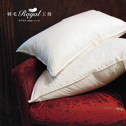 買一送一【皇室羽毛工房】羽毛枕