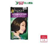 莉婕頂級涵養髮膜染髮霜-6深棕色40g+40g