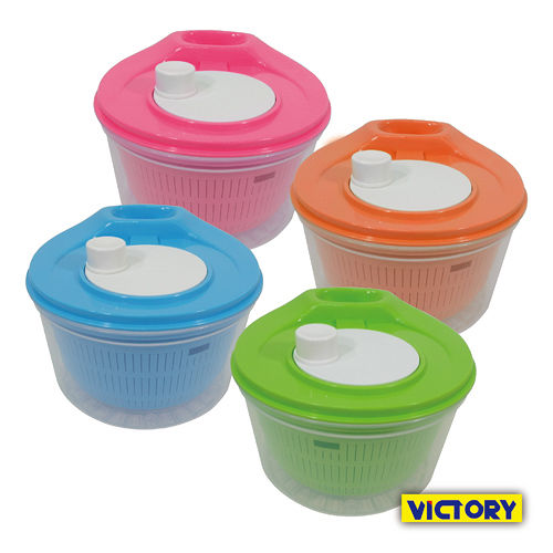 ~VICTORY~蔬果洗淨脫水器 手動式旋轉