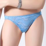 【SWEAR】仲夏呢喃系列低腰蕾絲內褲(晴天藍)