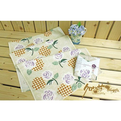 【クロワッサン科羅沙】日本毛巾~Japanese style 薔薇格 毛巾 34*90cm