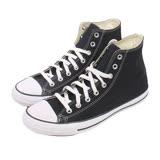 Converse 男/女鞋 經典膠底高筒帆布鞋-黑M9160C