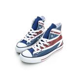 Converse 男/女鞋 經典款式英國國旗仿舊高筒鞋138449C