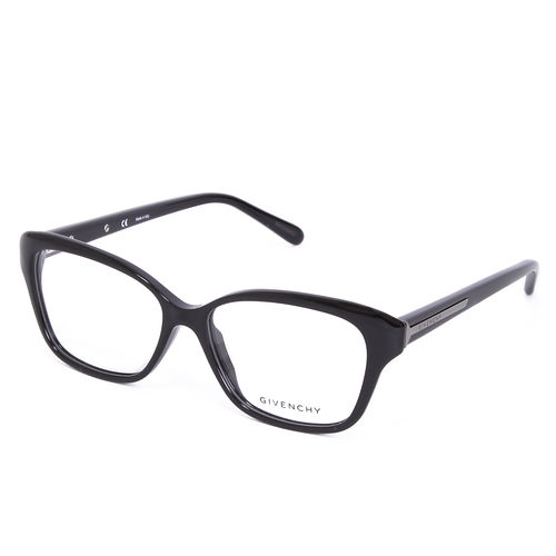 GIVENCHY 法國魅力紀梵希都會玩酷系列平光眼鏡(黑) GIVGV8590700