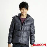 BOBSON 男款尊爵羽絨外套(藍32049-53)