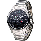 CITIZEN Eco-Drive 星辰 星球崛起計時腕錶 AT2310-57L