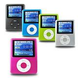 B1821三代胖蘋果 插卡式1.8吋彩色螢幕 MP4隨身聽(加16G記憶卡)(送三大好禮)