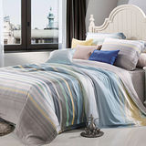 Lily Royal 悠藍夢境 天絲 雙人八件式兩用被床罩組