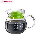 Tiamo 玻璃壺(玻璃把手) 380cc (綠色) HG2201G