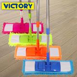 【VICTORY】雪尼爾強效平板拖(2拖4布)