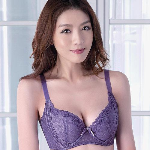 【Audrey】 峰挺舒波 大罩杯D-F罩內衣(薰衣草紫)