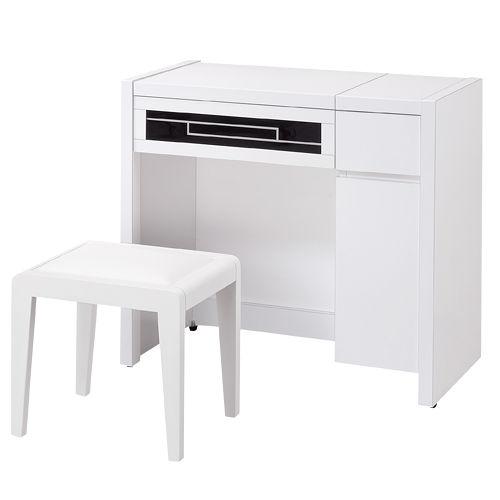 HAPPYHOME 艾蘿亞可掀式鏡台016-1(含椅子)可選色
