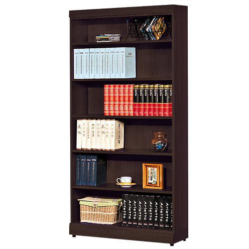 HAPPYHOME 凱特胡桃3尺開放書櫃051-6