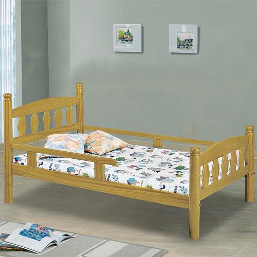 HAPPYHOME 烏心石3.7尺加大單人床070-2(床頭+床架)