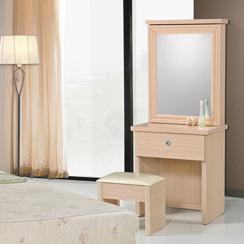 HAPPYHOME 2尺鏡台081-5(含椅子)可選色