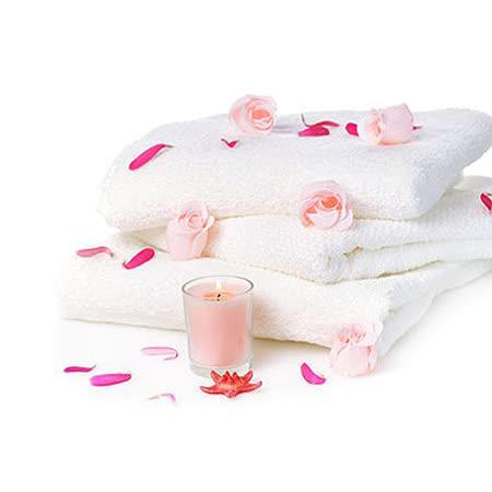 五星飯店級 純白厚織大浴巾3件組