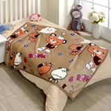 戀香 超柔舒小童毯 小毛毯-可可熊