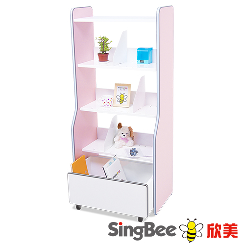 【SingBee欣美】 分層收納書架組