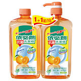 依必朗天然柑橘抗菌洗潔精1000g*2入
