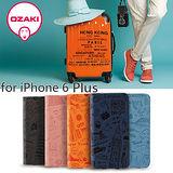 Ozaki O!Coat Travel iPhone 6 Plus 旅遊系列 側翻式附卡槽護皮套