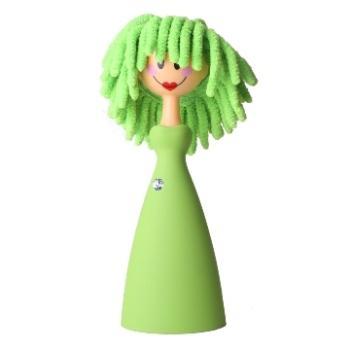 西班牙Vigar維宜卡 潔靚娃娃 電腦刷(綠色)
