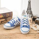 中國強 MIT 百搭休閒帆布鞋CH81(藍)女鞋