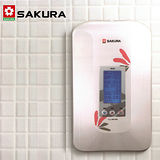 【送康寧餐具組+促銷】SAKURA櫻花 數位恆溫瞬熱式電熱水器 H-125 送標準安裝