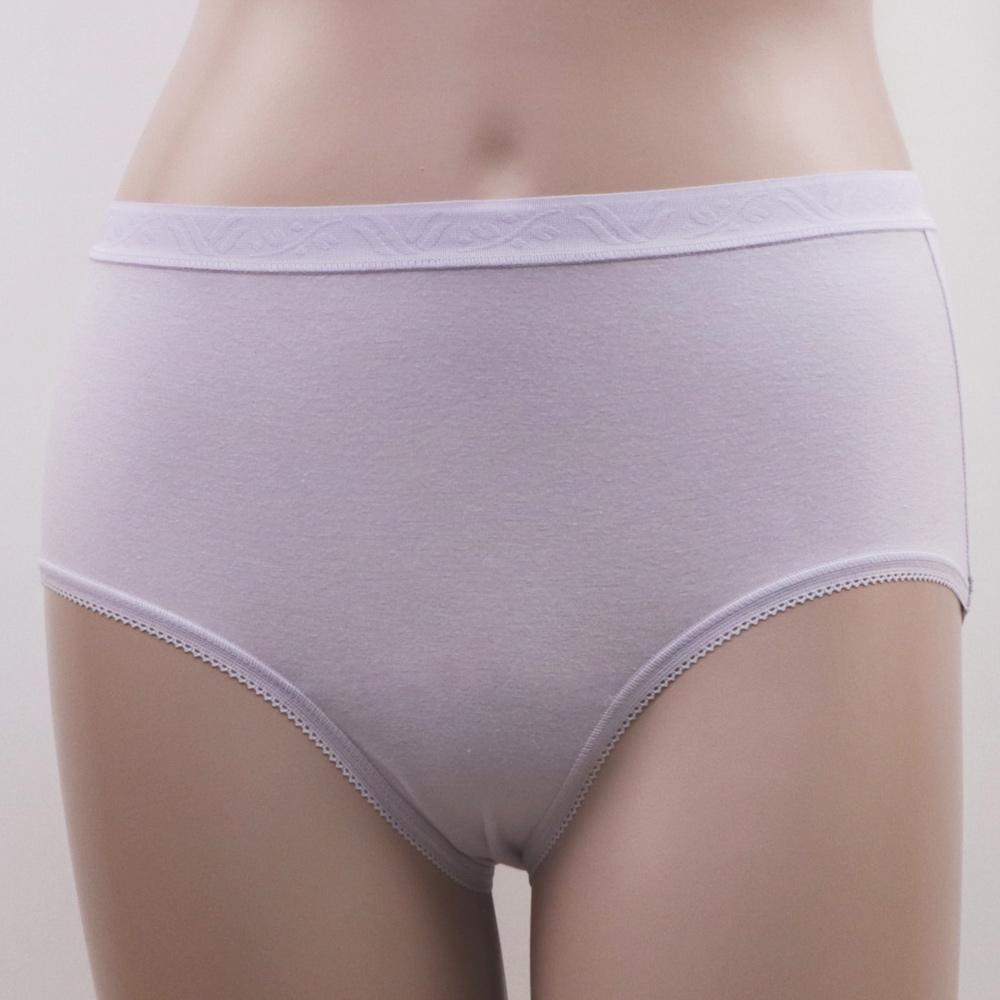 【華歌爾】新伴蒂系列 M-LL中腰舒適小褲(迷迭紫)