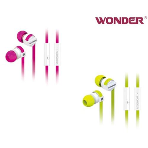 WONDER旺德 立體聲入耳式(防拉扯)耳機WA-E08M