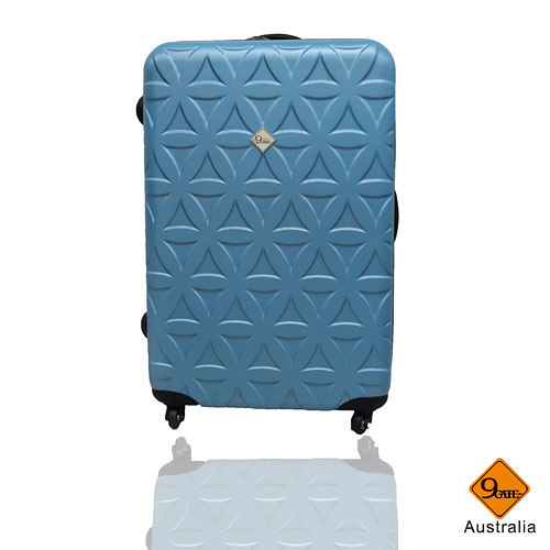 Gate9花花系列ABS霧面行李箱24吋