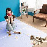 奶油獅 三折記憶聚合收納床墊單人 幻紫(3尺)