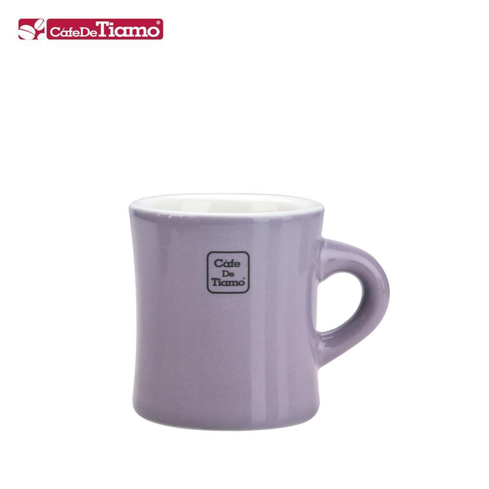 Tiamo 9號陶瓷馬克杯-200cc-紫羅蘭 (HG0856MP)
