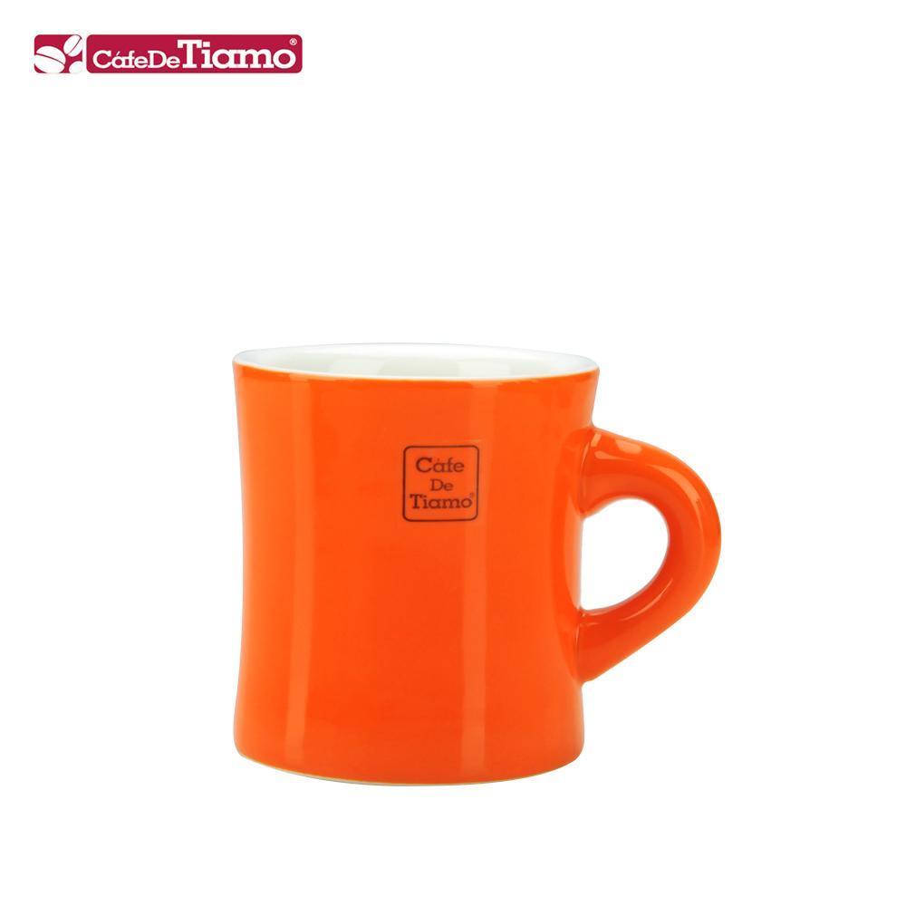 Tiamo 9號陶瓷馬克杯-200cc-橘色 (HG0856SC)