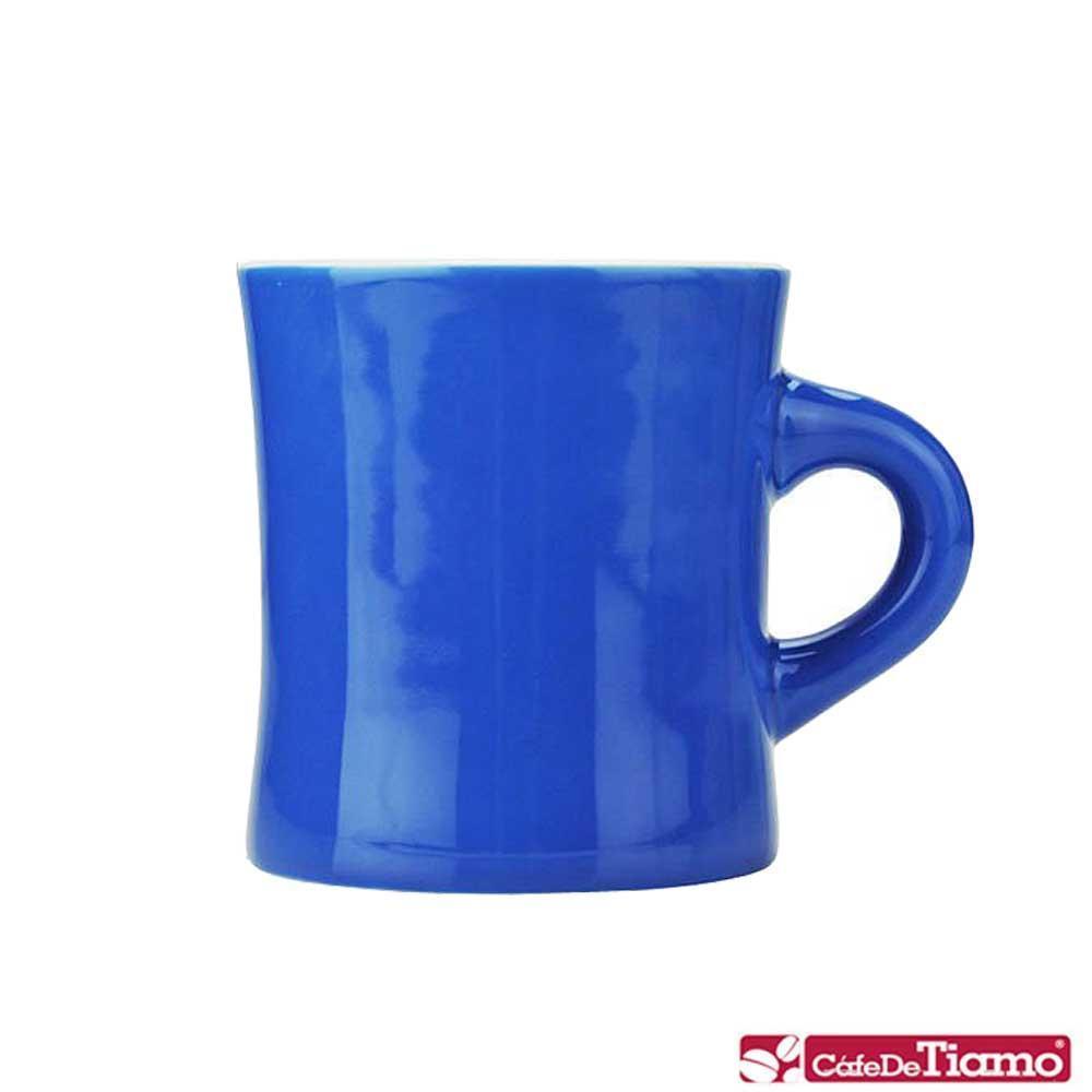 Tiamo 10號陶瓷馬克杯-300cc-深藍 (HG0857DC)