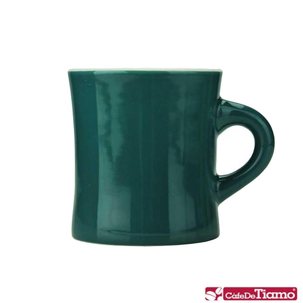 Tiamo 10號陶瓷馬克杯-300cc-深青灰 (HG0857DG)
