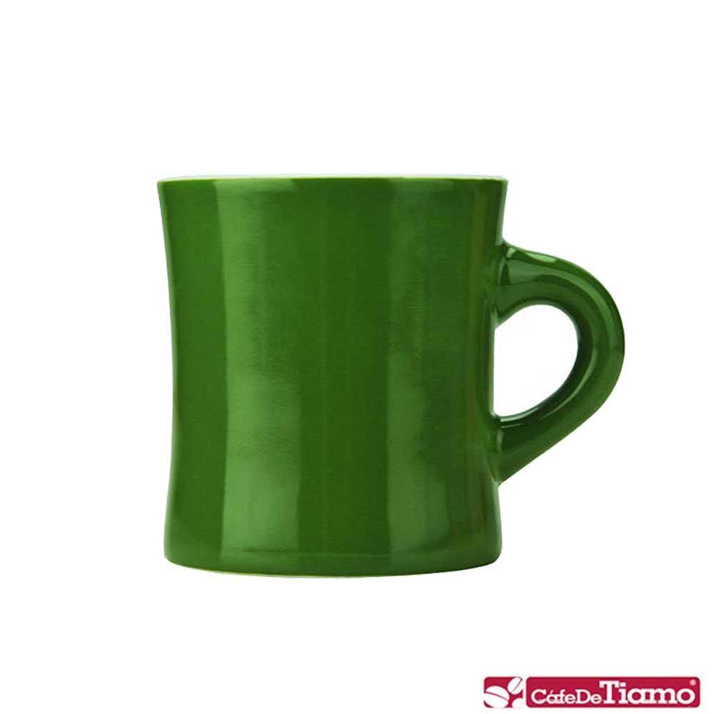 Tiamo 10號陶瓷馬克杯-300cc-深橄欖 (HG0857DO)