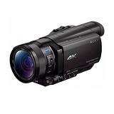 SONY FDR-AX100 4K高畫質攝影機(平輸-中文)--送64G記憶卡+專屬鋰電池+座充+單眼包+中型腳架+拭鏡筆+免插電防潮箱+強力大吹球+細毛刷+清潔組+硬拭保護貼
