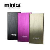 miniQ iBook 8000mAh超薄金屬髮絲紋行動電源