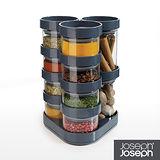 Joseph Joseph英國創意餐廚★太空積木收納罐(十件組-灰)★81004