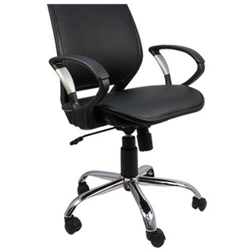 《邏爵辦公家具》格鬥士洞洞皮面透氣網墊辦公椅/電腦椅