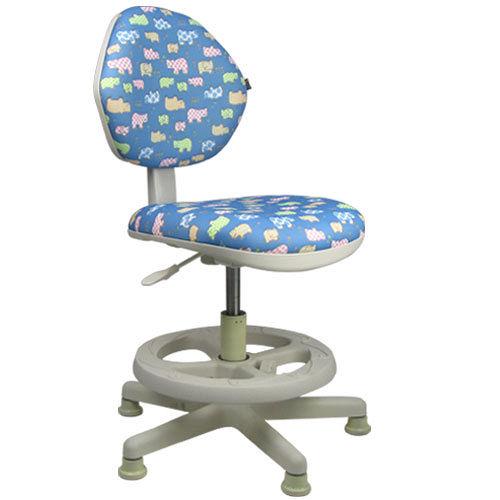 LOGIS-守習微笑河馬兒童椅/成長椅/電腦椅(二色)