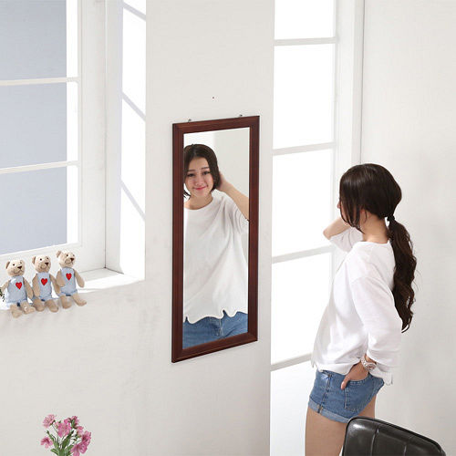 ~BuyJM~古典實木壁鏡 穿衣鏡 90~40公分