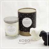 【KOBO】美國大豆精油蠟燭 - 香根草葉 (330g/可燃燒80hr)